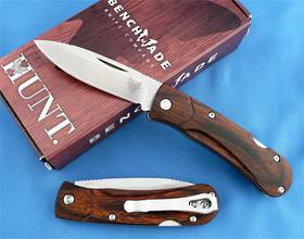 Benchmade Hunt Small Summit Lake Wood Folder