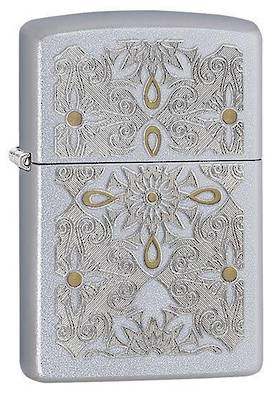 Zippo Classical Curve Satin Chrome Lighter
