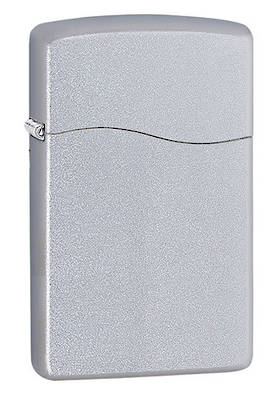 Zippo Blu2 Dusted Chrome Lighter