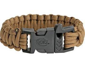 Colt SPEAR Survival Bracelet / whistle  Coyote Tan