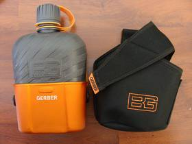 Gerber Bear Grylls Canteen with Cooking Cup