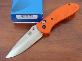 Benchmade 551-ORG Griptilian 154cm Drop Point Folding Knife
