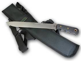 Knives of Alaska Bushmaster Alaskan Trail/Camp Knife - 851FG