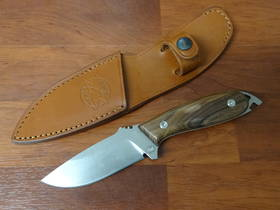 "DPx Gear HEFT 4 Woodsman Fixed 4"" Leather Sheath"