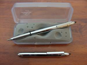 Fisher Bullet Pen with Clip And Stylus