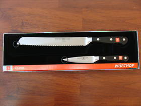 Wusthof Classic Bread and Paring 2 Pc Knife Set