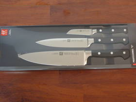 Zwilling J.A Henckels Professional S Chef Knife 3 Pce Set