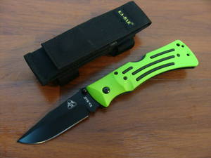 Ka-bar Zombie Mule Folder Plain Edge NO POUCH