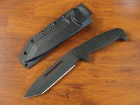 Schrade Full Tang Drop Point Tanto Fixed Blade TPE Knife