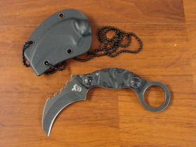 Colt Tactical Karambit Neck Fixed Blade Knife