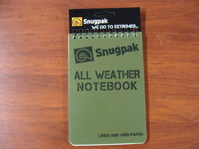 "All Weather Notebook Notebook 4"" x 6"" Green"