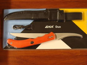 Eka Duo Switchable Blade Fishing Folding Knife