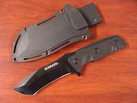 Schrade Compact Recurve Tanto Fixed Black Blade Knife