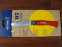 Opinel No 7 Round End Safety Red