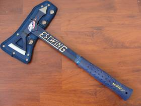 Estwing Black Eagle Tomahawk Axe - Blue
