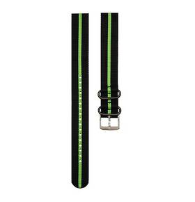 Luminox Nato Strap for 3000 Series Black Green Stripe