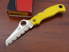 Spyderco Saver Salt Rust Free Folding Knife