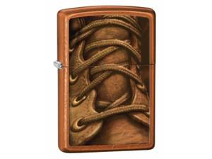 Zippo Boot Laces Toffee Lighter