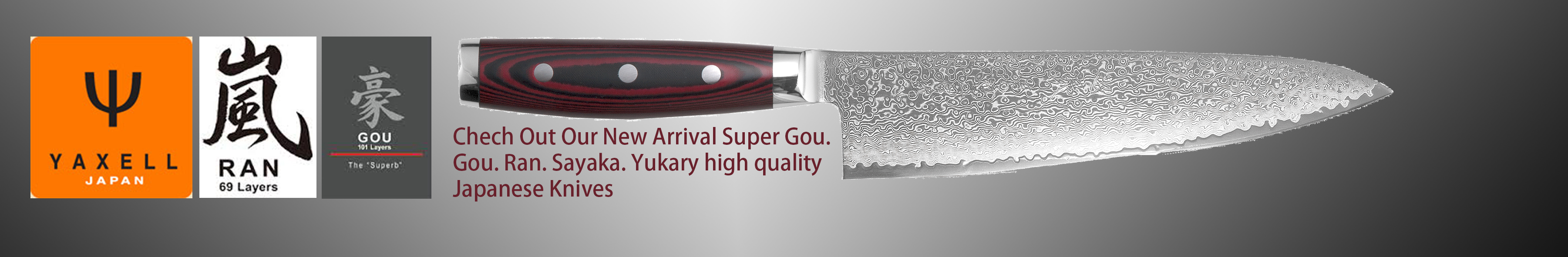 Quality Japanese Damascus Kitchen Knives